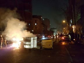 Protesters gather in Tehran, as unrest spreads across Iran