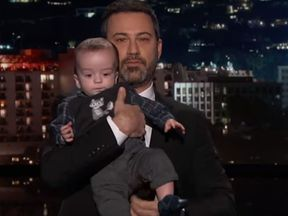 Kimmel's son has just had his second surgery for a heart defect