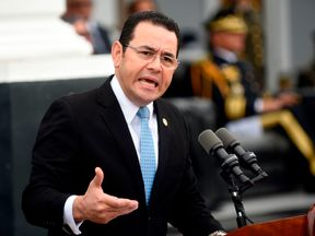 Guatemalan president Jimmy Morales said he is going to move the country's embassy to Jerusalem