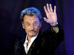 Hallyday, known in France simply as 'Our Johnny', has lost his battle with lung cancer