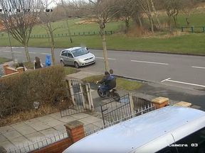 Police have issued a warning over off-road bikes with the shocking CCTV footage