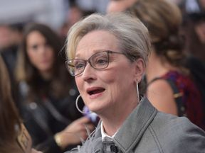 Actress Meryl Streep arrives for the premiere of 'The Post' on December 14, 2017, in Washington, DC. / AFP PHOTO / Mandel NGAN (Photo credit should read MANDEL NGAN/AFP/Getty Images)