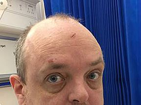 Image of patient issued by NHS Forth Valley