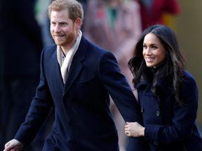 Prince Harry and his fiancee Meghan Markle