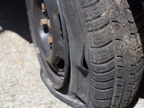 The tyre slasher was caught after hitting 6,000 cars