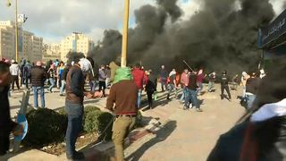 Protests in Ramallah