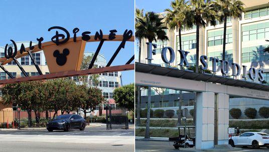 Disney and Fox. Pic: Coolcaesar