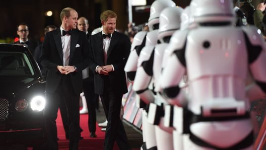 The Star Wars cast remained tight-lipped on whether the pair had cameo roles in the film