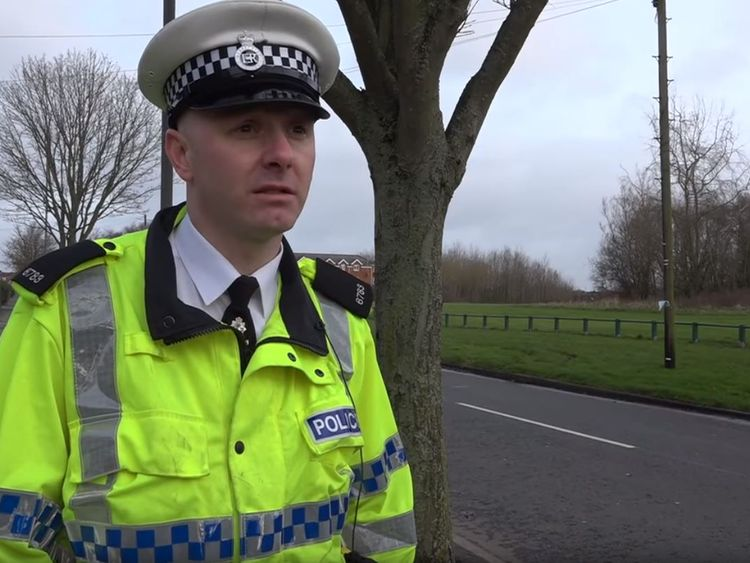 Roads Policing Constable Shaun Regan said the family were still recovering from their ordeal