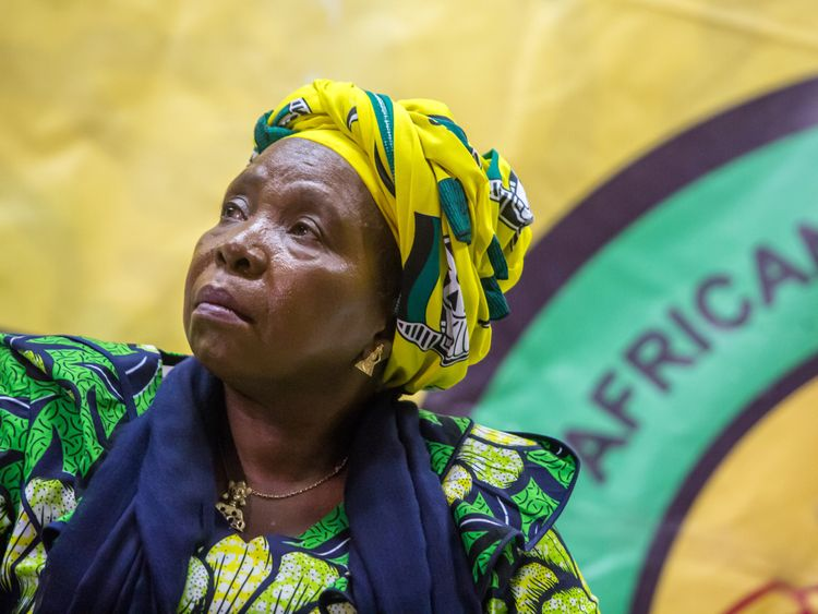 Nkosazana Dlamini-Zuma is the other favourite to take over at the ANC