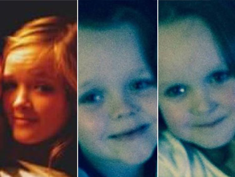 Demi, 14, Brandon, 8, and Lacie, 7, were all killed in the house fire. Pics. Facebook