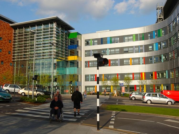 A general view of the Queen Alexandra Hospital in Portsmouth, Hampshire