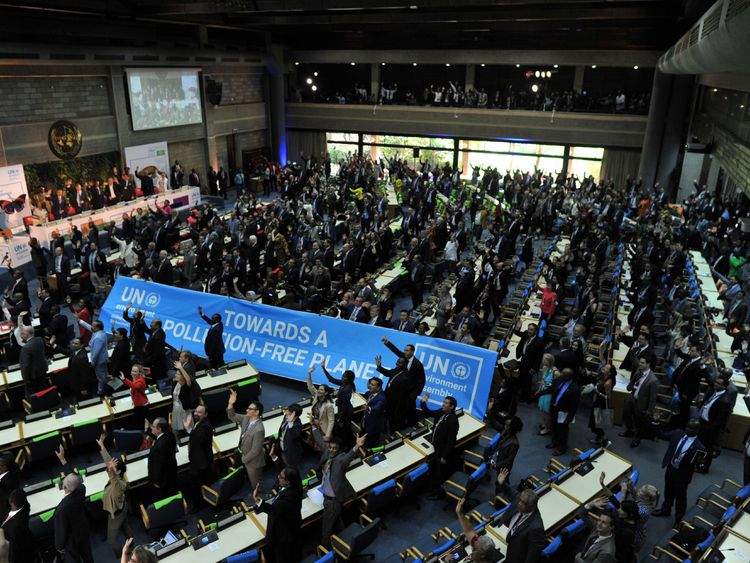 7,000 delegates pledged towards a pollution-free planet