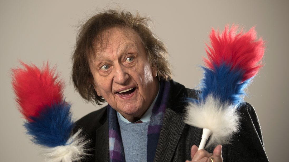 Ken Dodd in November 25, 2016 in Liverpool, England