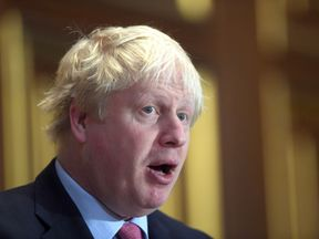 Foreign Secretary Boris Johnson. File photo