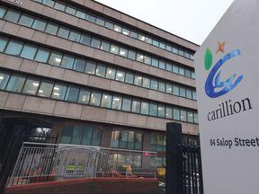 Carillion's head office in Wolverhampton