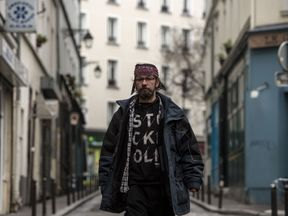 Christian French homeless man Christian Page