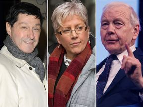 Jon Sopel, Carrie Gracie and John Humphrys