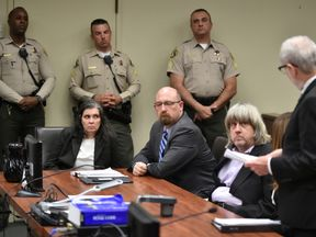 Louise and David Turpin appear in court for her arraignment in Riverside