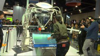 ping pong robot