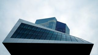 The European Central Bank (ECB) headquarters in Frankfurt, Germany