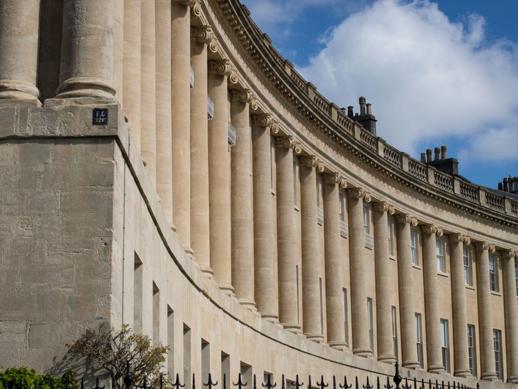 Bath's Historic Royal Crescent -