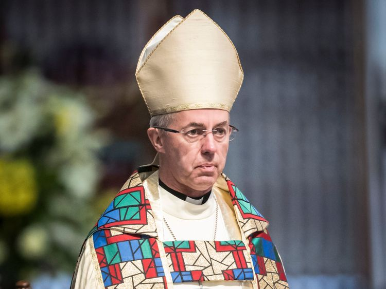"""File photo dated 09/07/17 of the Archbishop of Canterbury Justin Welby, who has used his new year message to praise the """"depth of compassion"""" shown by communities responding to terrorism and tragedy. PRESS ASSOCIATION Photo. Issue date: Sunday December 31, 2017. The Anglican leader said that the 2017 terrorist atrocities in London and Manchester and the Grenfell Tower disaster had been met with heroism from the emergency services. See PA story RELIGION NewYear. Photo credit should read: Danny Lawson/PA Wire"""