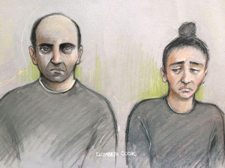Ouissem Medouni (l), and Sabrina Kouider deny murdering Sophie Lionnet