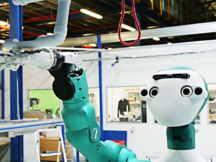 Ocado's 'SecondHands' maintenance robot. Pic: Ocado