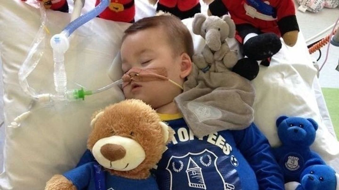 Alfie was born in May 2016 and has suffered from an unknown disorder