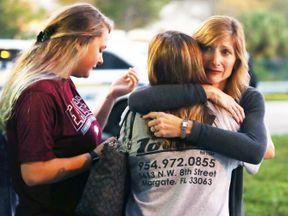Aftermath of Florida school shooting