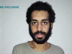 Alexanda Kotey in detention. Pic: ITV News