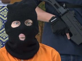 Prosecutors allege Adam Scott had a hundred of tablets on him