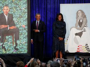 This was the first time official presidential portraits had been painted by African American artists