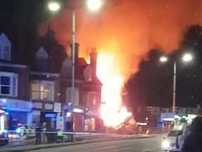 Image from the scene. Pic: Graeme Hudson