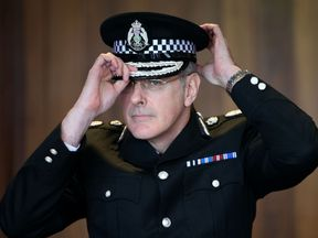 Chief Constable Phil Gormley who has resigned with immediate effect