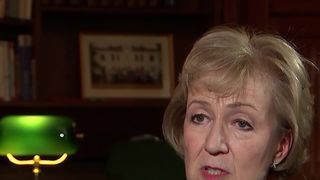 Andrea Leadsom speaking out against abuse