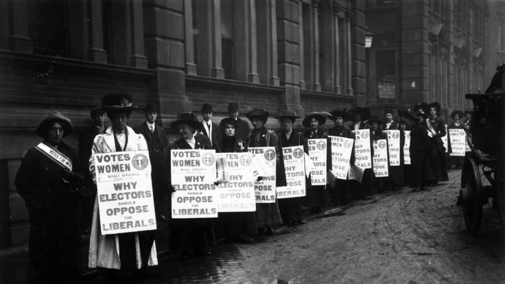 Women eventually got the vote after years of campaigning and protests