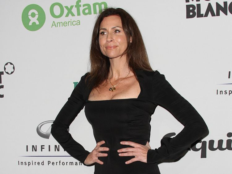Minnie Driver at an Oxfam event in LA in 2010