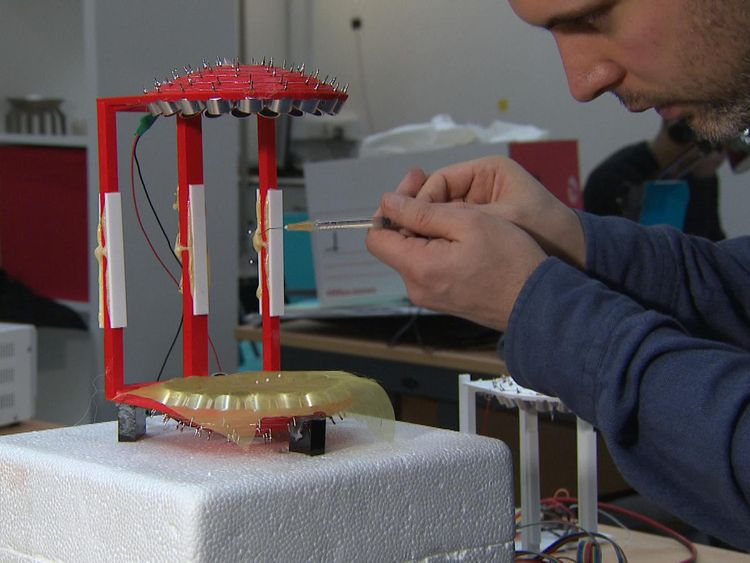 The engineers are aiming to use the technology on tiny objects unlike Star Trek