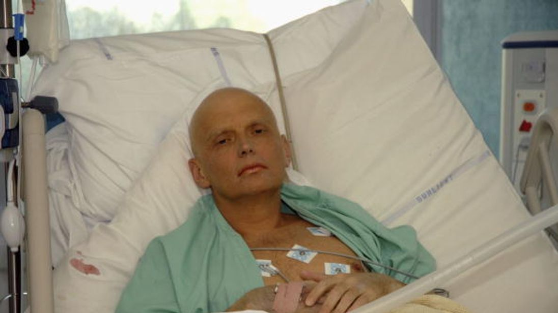 Alexander Litvinenko died after his tea was laced with polonium in 2006