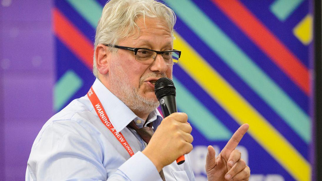 Jon Lansman, chair of Momentum