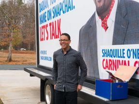 Carnival Cruise went to the small Virginia town of Prospect this week to findDarian Lipscomb, who is a big fan of the company,andask him to hand over the handle@CarnivalCruise.