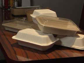New technology has made possible packaging made from materials such as sugar cane