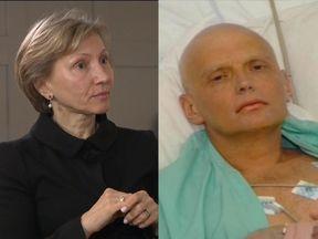 Marina and Alexander Litvinenko