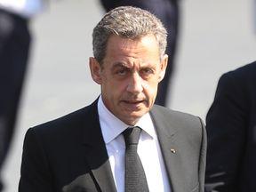 Former French president Nicolas Sarkozy is understood to be in police custody