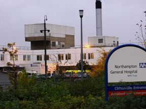A general view of Northampton General Hospital