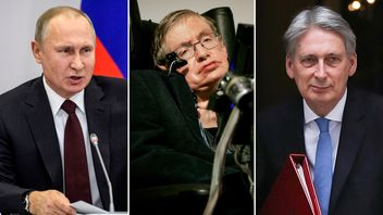 Russia, Stephen Hawking and Philip Hammond have been in the news this week