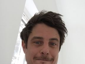 Aaron Springett, who was found collapsed in Morden and later died in hospital