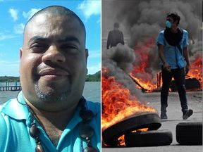 Angel Gahona died during protests in Nicaragua